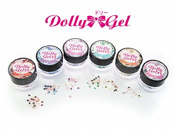 RJ-Heart SequinsDolly Gel heart sequins
