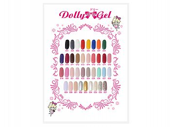 RG-Color ChartDolly Gel Color Chart