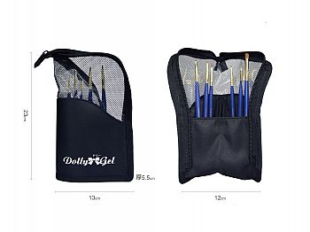 RG003DollyGel Standable Brush& Tools Pouch